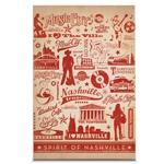 Quadro em Canvas Espírito Musical de Nashville