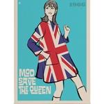 Quadro em Canvas Mod Save The Queen
