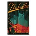 Quadro em Canvas Nashville - Cidade da Música