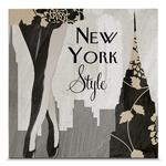 Quadro em Canvas New York Style