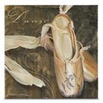 Quadro em Canvas Sapatilha de Bailarina