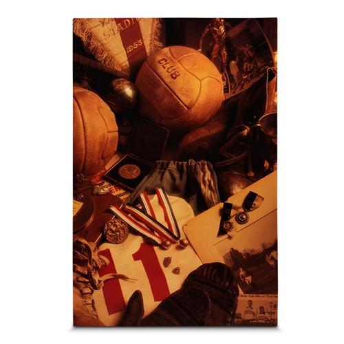 Quadro em Canvas Soccer Objects - 60x40 cm