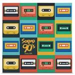 Quadro em Canvas Sound of 90s - Colors