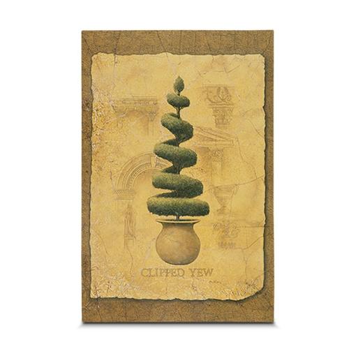 Quadro em Canvas Vintage Arbusto II - 45x30 cm