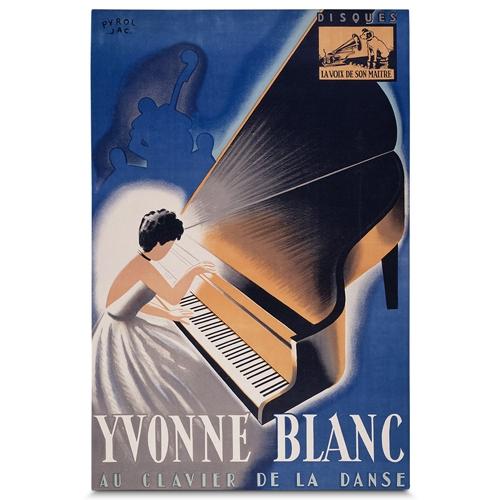 Quadro em Canvas Yvonne Blanc - 90x60 cm
