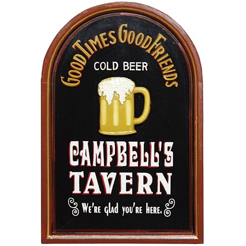 Quadro Cold Beer Campbells Tavern Oldway - 60x40 cm
