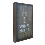 Quadro colecionável - Wine not?