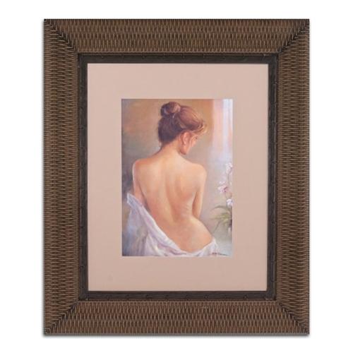 Quadro Decorativo Artistic Nude em Madeira - 122x102 cm