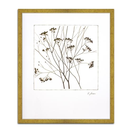 Quadro Decorativo Autumn Whimsy III em Madeira - 64x54 cm
