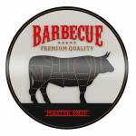 Quadro Decorativo Barbecue Premium Quality Preto em MDF