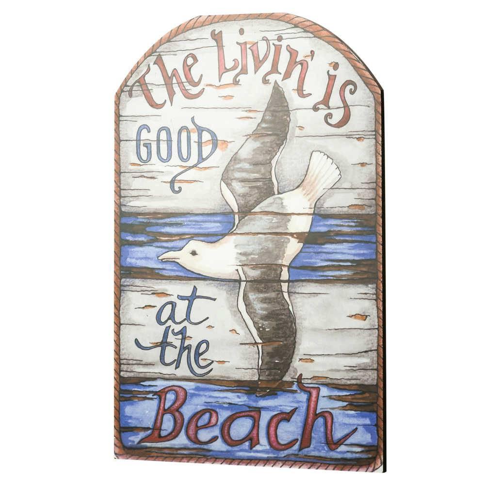 Quadro Decorativo Beach em MDF - Lyor Classic - 46x30,5 cm