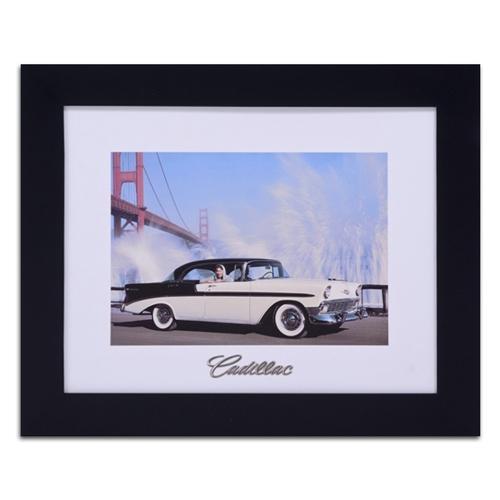 Quadro Decorativo Cadillac in New York em Madeira - 61x51 cm