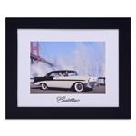 Quadro Decorativo Cadillac in New York em Madeira