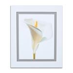 Quadro Decorativo Calla Branca em Madeira