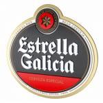 Quadro Decorativo Cerveja Estrella Galicia em MDF - 40x38 cm