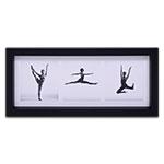 Quadro Decorativo Dança - Bailarinas - em Madeira