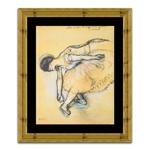 Quadro Decorativo Dancer em Madeira
