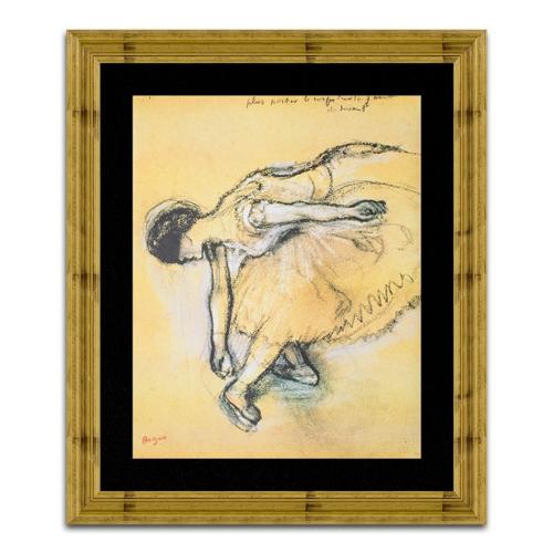 Quadro Decorativo Dancer em Madeira - 92x78 cm