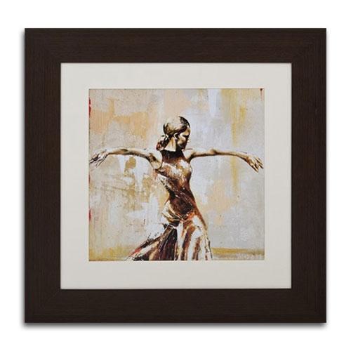 Quadro Decorativo Danza em Madeira - 83x83 cm