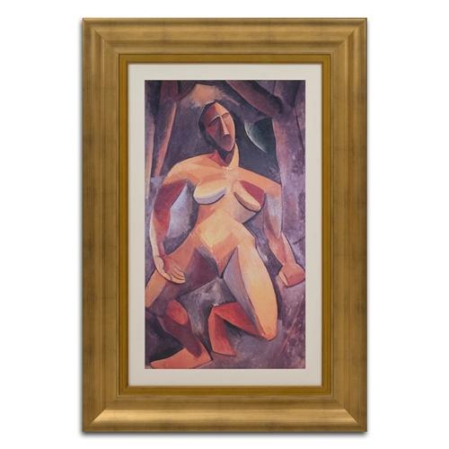 Quadro Decorativo A Dríade em Madeira - 103x71 cm