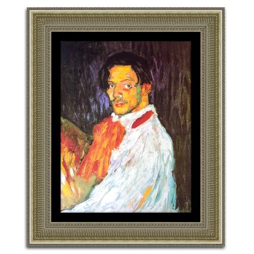 Quadro Decorativo Eu, Picasso em Madeira - 99x82 cm