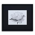 Quadro Decorativo Flor Branca em Madeira