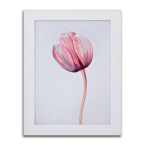 Quadro Decorativo Florescer em Madeira - 83x63 cm