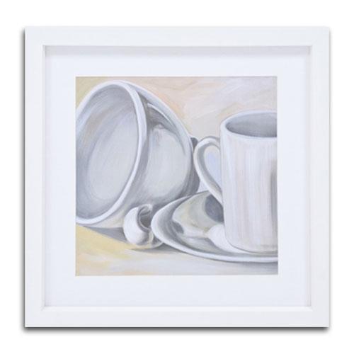 Quadro Decorativo La Cucina em Madeira - 48x48 cm