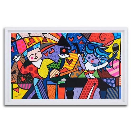 Quadro Decorativo Latin Celebration em Madeira - 91x58 cm