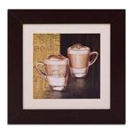 Quadro Decorativo Latte Macchiato em Madeira
