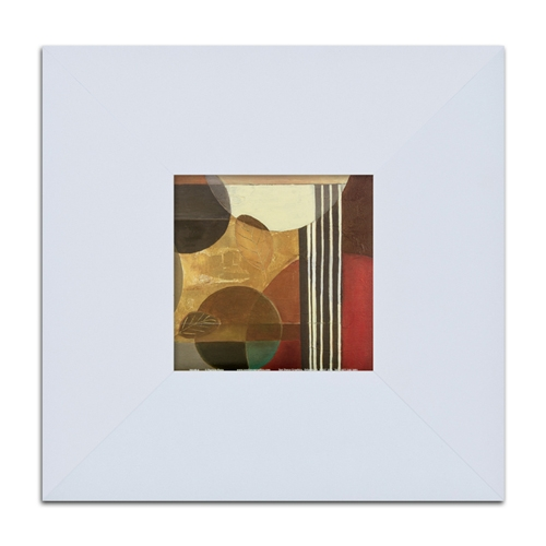 Quadro Decorativo Lines em Madeira - 32x32 cm