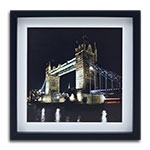 Quadro Decorativo London, Bridge em Madeira