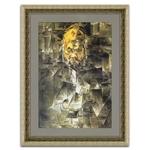 Quadro Decorativo Retrato de Ambroise Vollard em Madeira