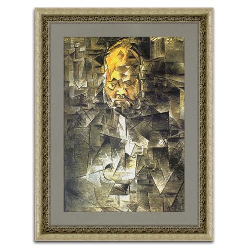 Quadro Decorativo Retrato de Ambroise Vollard em Madeira - 98x75 cm