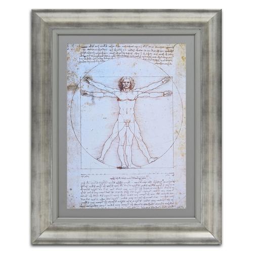 Quadro Decorativo Shema del Corpo Umano em Madeira - 103x82 cm