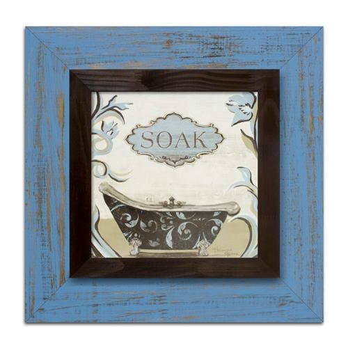 Quadro Decorativo Soak em Madeira - 53x53 cm