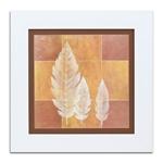Quadro Decorativo Três Folhas em Madeira