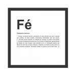 Quadro dicionário - Fé