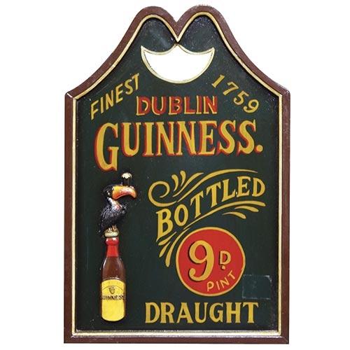 Quadro Dublin Guinness Bottled Oldway - 60x40 cm