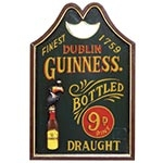 Quadro Dublin Guinness Bottled Oldway