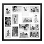 Quadro de Fotos Fourteen Moments - Moldura Preta