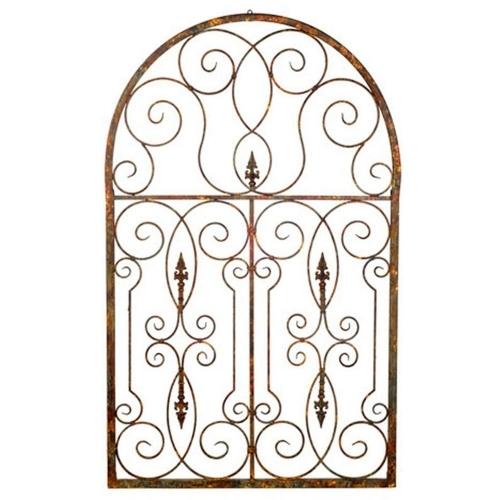Quadro Gate Secret Garden Aramado nem Metal - 173x107 cm