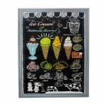 Quadro Ice Cream Fullway em Madeira e Canvas - 80x60x3,5 cm