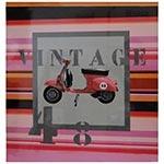 Quadro Impresso em Laca Vintage 48 Fullway - 70x70 cm