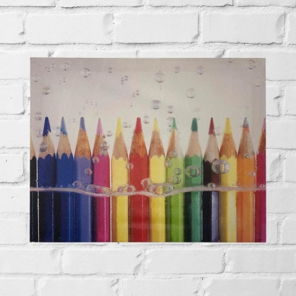 Quadro lápis n,água