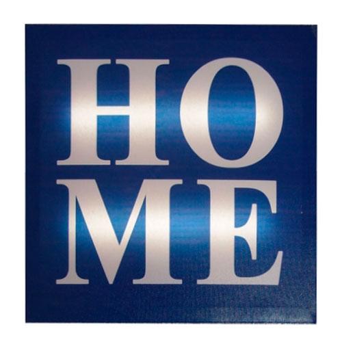 Quadro LED Home em MDF - 30x2 cm