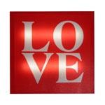 Quadro Led Love em MDF