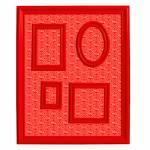 Quadro Magnético para Retratos Coca-Cola Logo Vintage Vermelho - Urban - 57x46 cm