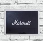 Quadro Marshall grande (c/ moldura)