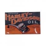 Quadro metal óleo Harley Davidson